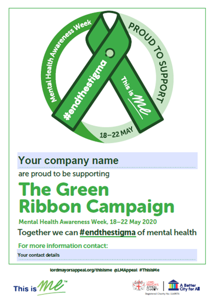 Screenshot of the Editable Poster which can be downloaded to include the name of your business.