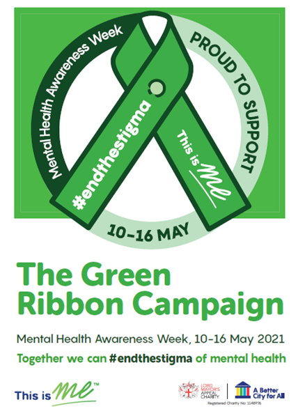 Picture of The Green Ribbon Campaign A4 Poster: Download